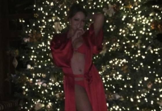 Maria Careys frække juletradition! Maria Carey, jul, fido