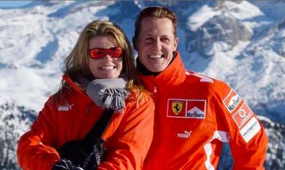 Schumachers kone: Det går fremad ! Schumacher, f1, magnussen, fodbold, alonso,