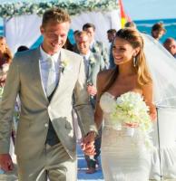 Anders Lindegaard gift i Paradisbryllup! Anders Lindegaard, Missé Beqiri, gift, married,