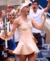 Caroline ekstremt populær i USA! caroline wozniacki, tennis