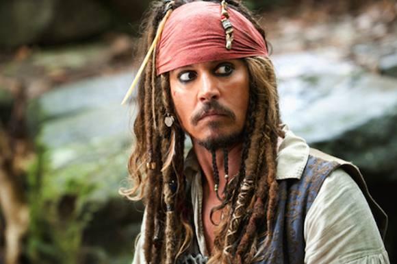 Depp kvæstet under pirat-optagelser! johnny depp, pirates of the caribbean