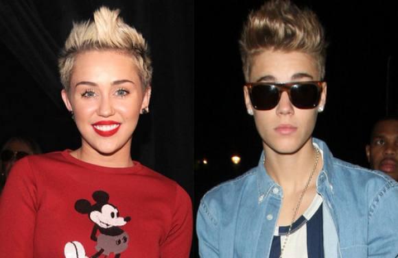 Miley Cyrus forsvarer Justin Bieber! Miley Cyrus, Justin Bieber, kærester, nøgen