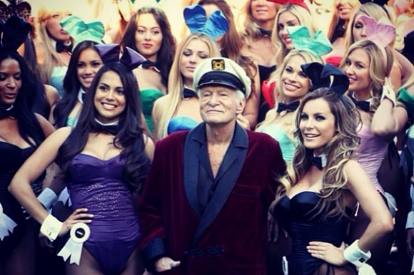 Hugh Hefner vil sælge Playboy! Hugh Hefner, Playboy,