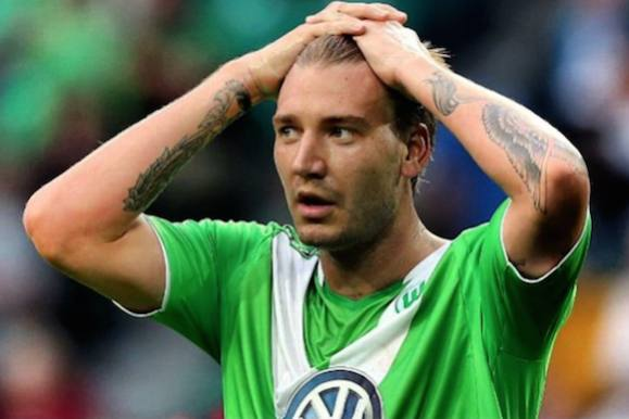 Nicklas Bendtner forlader Wolfsburg! nicklas bendtner, wolfsburg