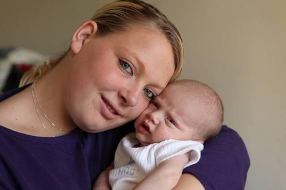 Natacha Nikita: Vil have et barn mere! Natacha Nikita, barn, Remi, de unge mødre, kæreste, gift