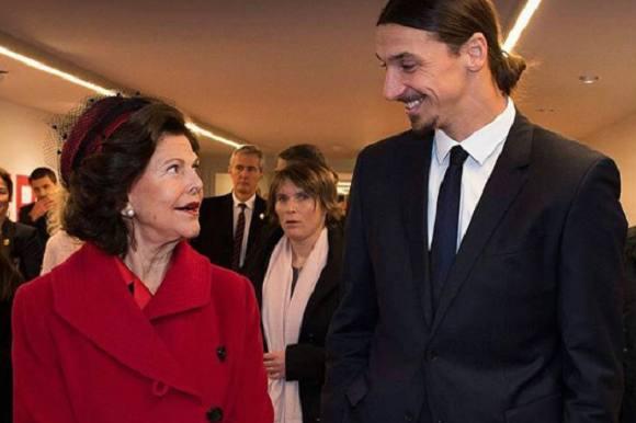 Zlatans kommentar til dronningen! Zlatan Ibrahimovic, dronning Silvia,