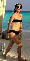 Badeferie: Se Mary i bikini! Mary Donalson, kronprinsesse, Danmark, ferie, bikini, nøgen