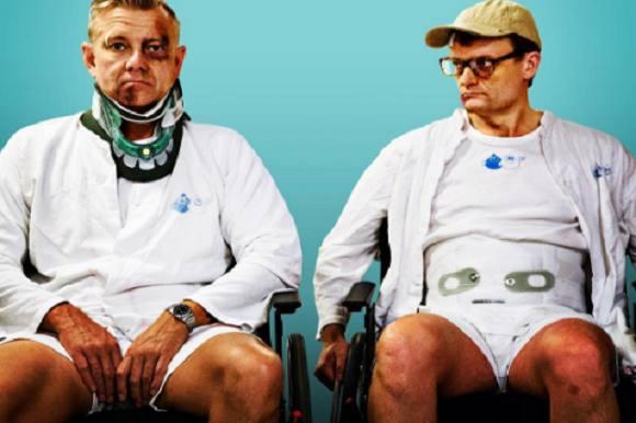 Casper og Frank for frække til USA! Casper Christensen, Frank Hvam, Klovn Forever, USA