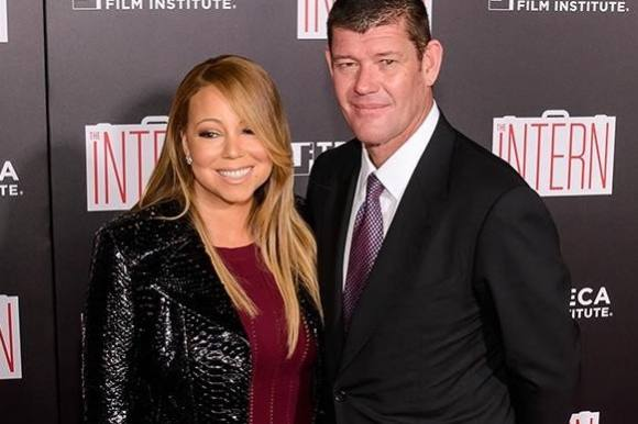 Mariah Carey forlovet med australsk milliard�r! mariah carey, james packer