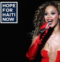 1 mia dollars samlet ind i nat til Haiti George Clooney, Leonardo DiCaprio, Bruce Springsteen, Madonna, Justin Timberlake, Bono, Rihanna, Muhammad Ali, Beyonce og Brad Pitt