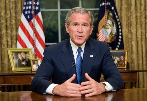 Bush halshugget af tv-serie!