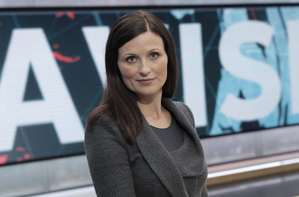 Line Gertsen færdig som nyhedsvært! Line Gertsen, TV Avisen,