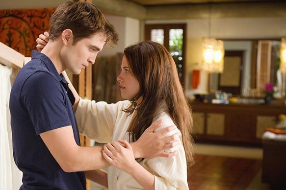 Knust Pattinson skrider fra Stewart! robert pattinson, kristen stewart, twilight,