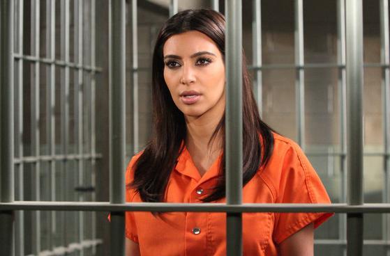 Kim Kardashian i fængsel! kim kardashian,