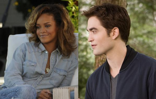 Rihanna sexter Robert Pattinson! rihanna, robert pattinson,