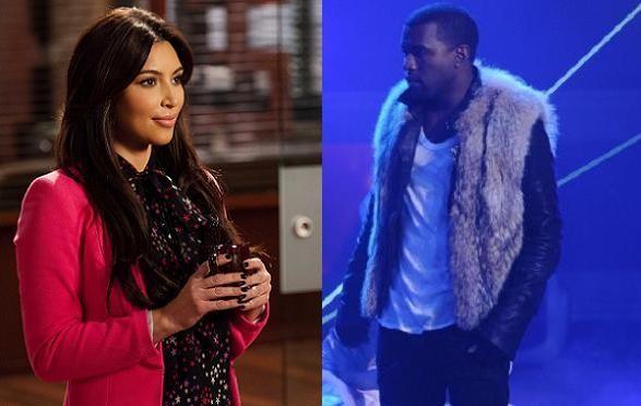 Kanye rapper om Kardashians sexbånd! kanye west, kim kardashian,