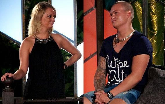 Amalie og Nicholai gale på TV3! fristet,