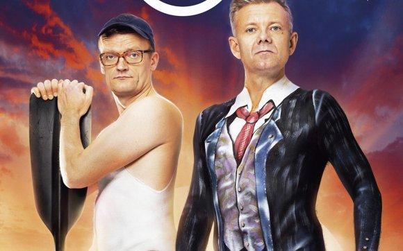 Casper og Frank skriver ny spillefilm! casper christensen, frank hvam, klovn,