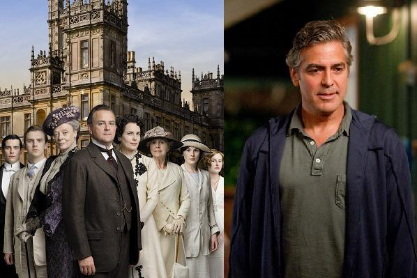 Downton vigtigere end Clooney! downton abbey, george clooney, hugh bonneville,