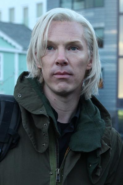 Sherlock forvandlet til Assange! benedict cumberbatch, julian assange,