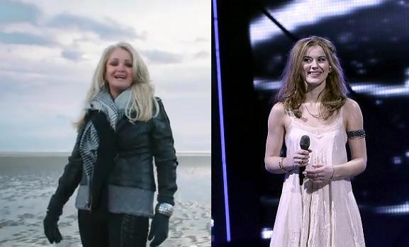 Bonnie Tyler mod Emmelie de Forest! eurovision, emmelie de forest, bonnie tyler,