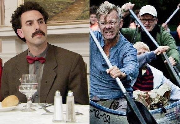 Borat vil have Casper C. og Hvam! borat, casper christensen, frank hvam, sacha baron cohen, klovn,
