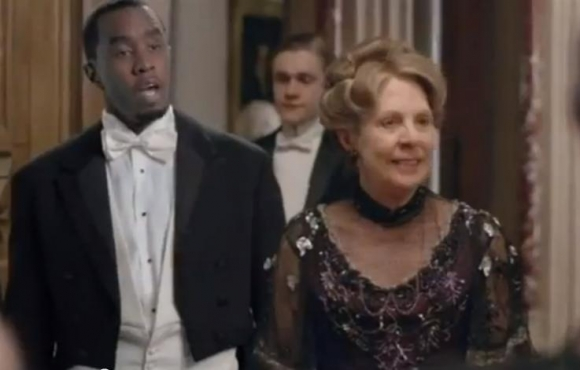 P Diddy i Downton Abbey! p diddy, downton abbey, sean combs,