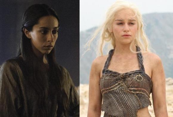Nøgenbrok i Game of Thrones! game of thrones, emilia clarke, nikolaj coster-waldau,