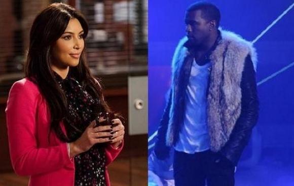 Kanye og Kardashian skal giftes! kanye west, kim kardashian,