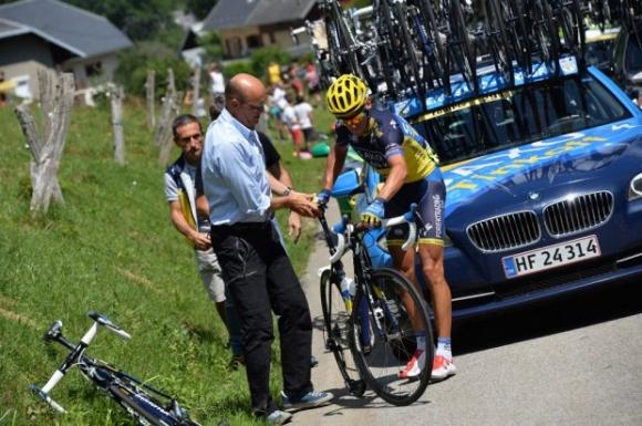 Contador mister podieplads! alberto contador, chris froome, tour de france, bjarne riis,