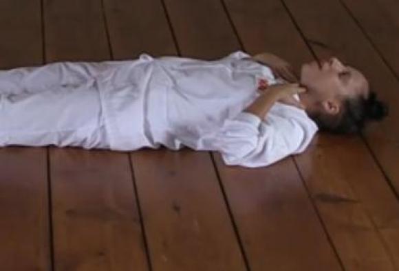 Gaga splitternøgen i kunstvideo! lady gaga, marina abramovic,