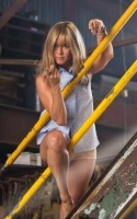 Aniston: Vild med strip! jennifer aniston, were the millers,