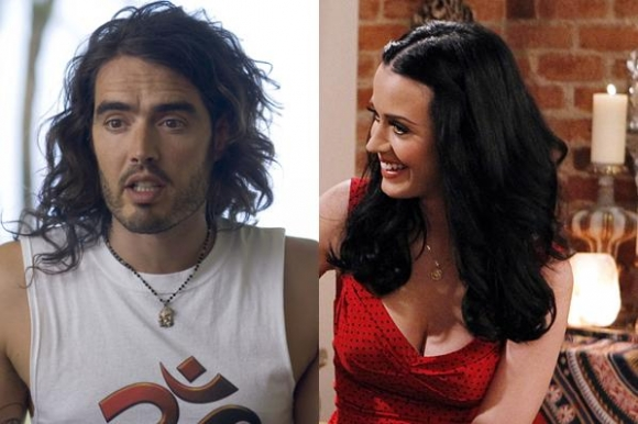 Brand: Kedeligt med Perry i sengen! russell brand, katy perry,