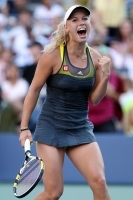 Ingen shopping til Wozniacki! Caroline Wozniacki, US Open, New York