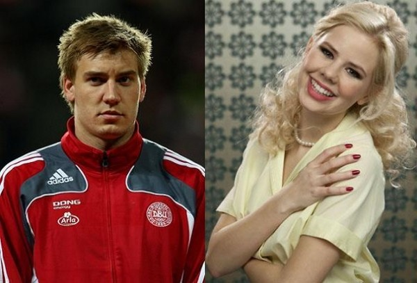 Julie Zangenberg stolt over Bendtner! julie zangenberg, nicklas bendtner
