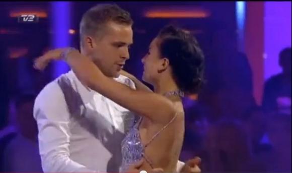 Claudia Rex og Joakim dater! claudia rex, joakim ingversen, vild med dans