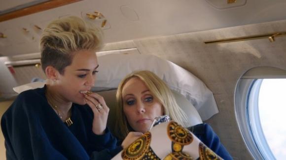 Miley Cyrus afslører alt på MTV! miley cyrus
