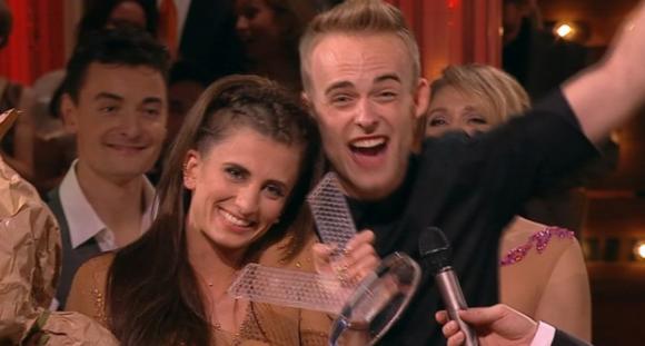 Mads og Mie vinder Vild med dans ! Mads vad, mie skov, vild med dans