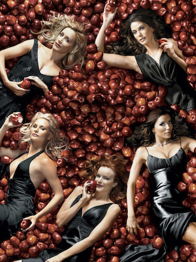TV chock: Desperate Housewives slukker og lukker ! Desperate Houswives, Eva Longoria, Teri Hatcher, Felicity Huffman, Marcia Cross
