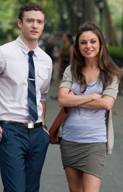 Justin & Kunis: Vi boller altså ikke !  Mila Kunis, Justin Timberlake, sexscene, gossip, tvguide.dk,