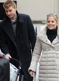 Bendtner & Baronessen genforenet ! Niclas Bendtner, Caroline Fleming