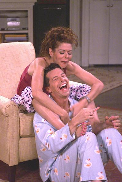 Debra Messing skal skilles! Debra Messing, Will & Grace, Daniel Zelman,