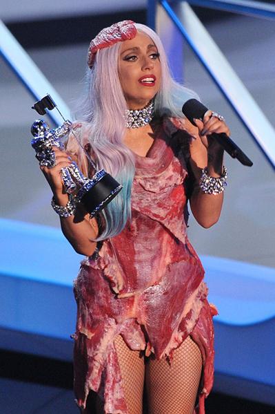 Lady Gaga efterlader blodbad! Lady Gaga,