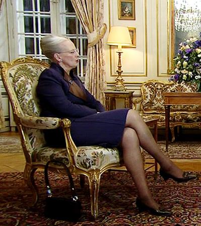 Margrethe får kvinder til at besvime! Margrethe, Dronning Margrethe,