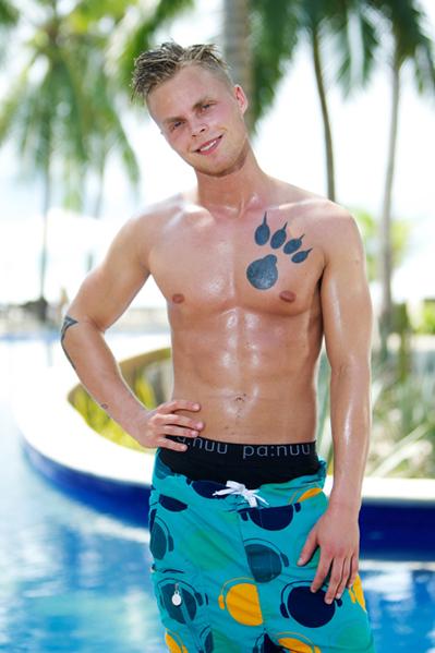 Paradise-Julian er et superknald! Paradise Hotel, Jeanette, Julian