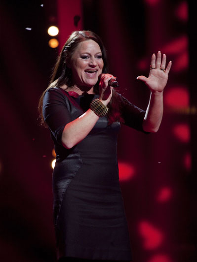 Skotte efter seernes tilgivelse og sejr! Voice - Danmarks største stemme, Liv Skotte, Rosa Skotte, Mathias Packler,