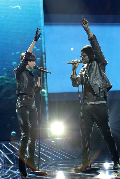 X Factor-chock: Duo trækker sig! x-factor, kristel, blachman, dr, simone,