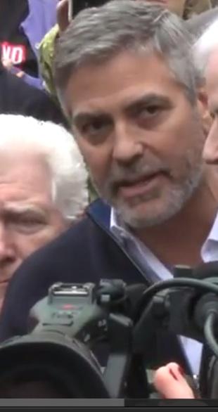 George Clooney anholdt i Washington! clooney
