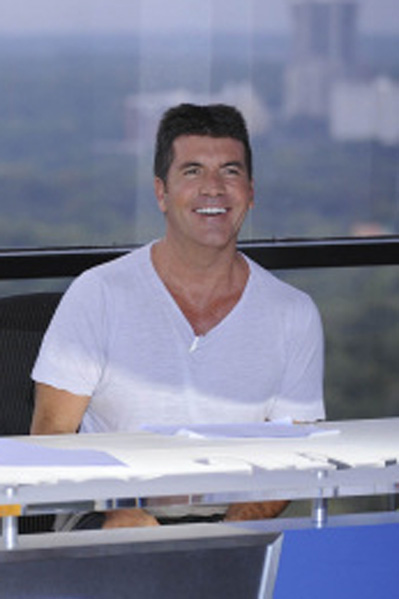 Cowell bestjålet af one night stand! Simon Cowell, Dannii Minogue, X Factor,