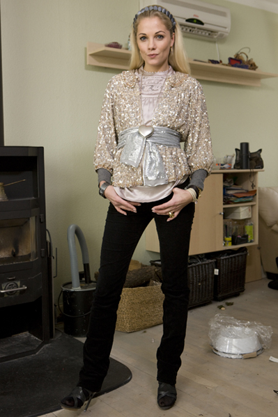 Caroline Fleming: Usund kærlighed! Caroline Fleming, Uffe Buchard, Danmarks næste topmodel,
